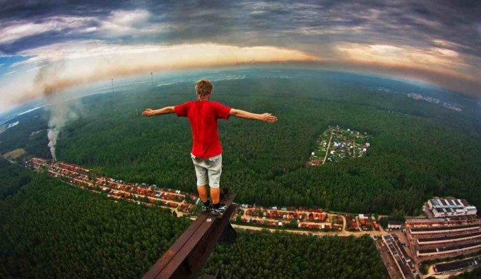 Marat Dupri skywalking