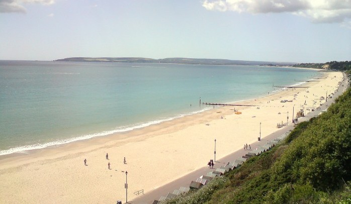 Bournemouth beach east