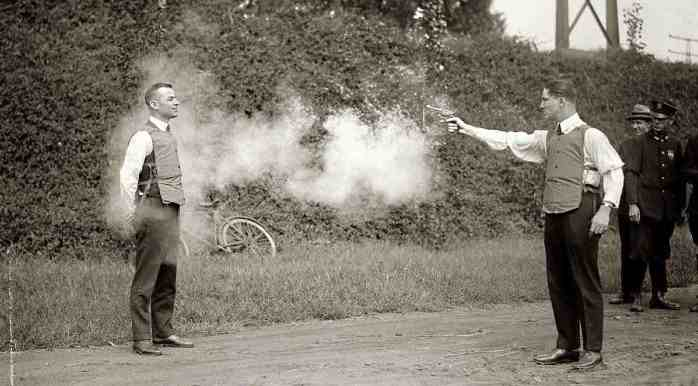 shooting bulletproof vest