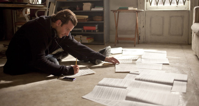 bradley cooper studying in limitless
